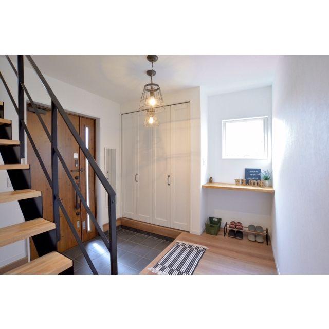 階段/玄関ホール/IKEAカウンター/玄関/入り口のインテリア実例 - 2015-04-14 08:22:15 | RoomClip(ルームクリップ)