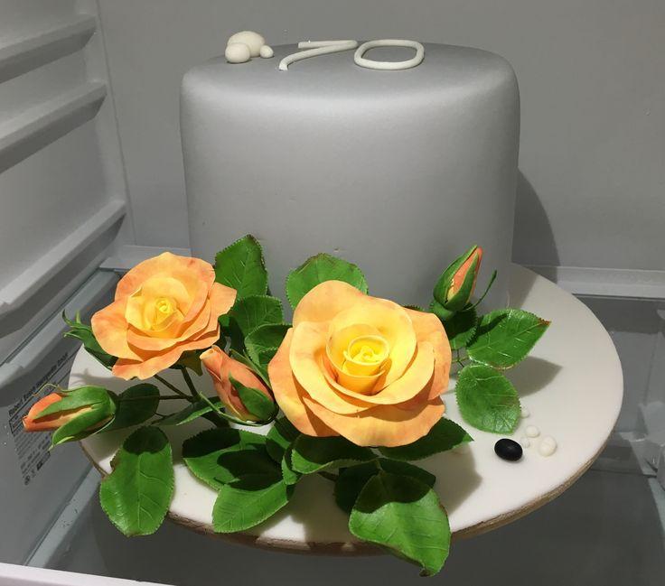 Flowers Cake, Roses Cake, kvetinovy dort, ruze