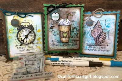 Richele Christensen: STAMPtember at Simon Says Stamp and the NEW Tim Holtz Stamp set.