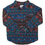 MAMBO Flannel Shirt Size 8 10 12 14 16 Boy Blue Black Aztec Print Winter Surf