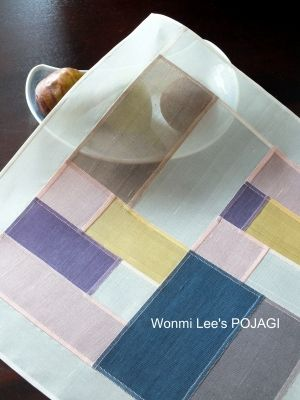U~onmi Lee Pojagi day-to-day