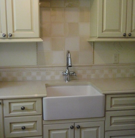 checkerboard backsplash | For the Home | Pinterest