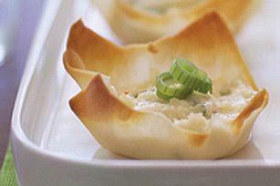 Coupes au crabe et au fromage - Kraft Canada