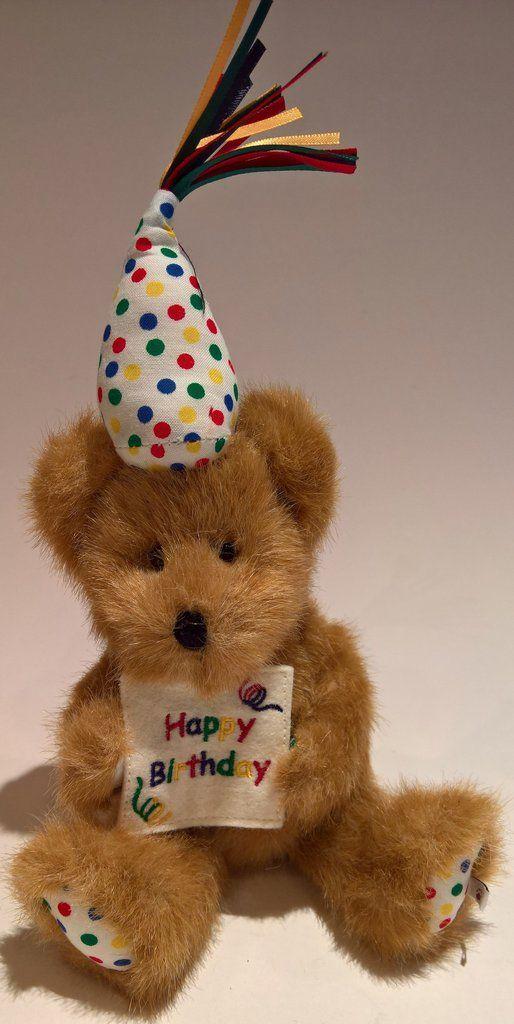 Happy B. Bear - Genuine Boyds Bear Collectible Teddy