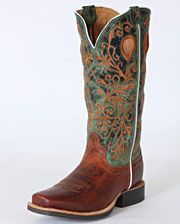 "Twisted X Boots Ladies' Ruff Stock 13"" Boots - www.fortwestern.com"
