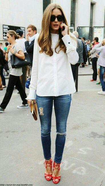 Skinny jean style