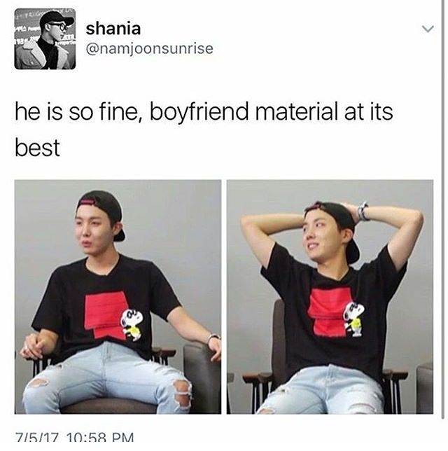 Definition of boyfriend material