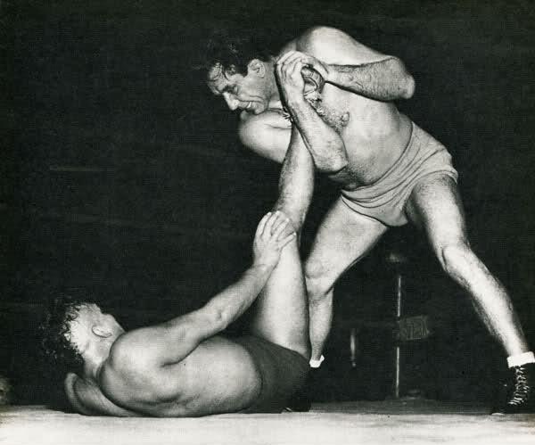 mike mazurki pro wrestling