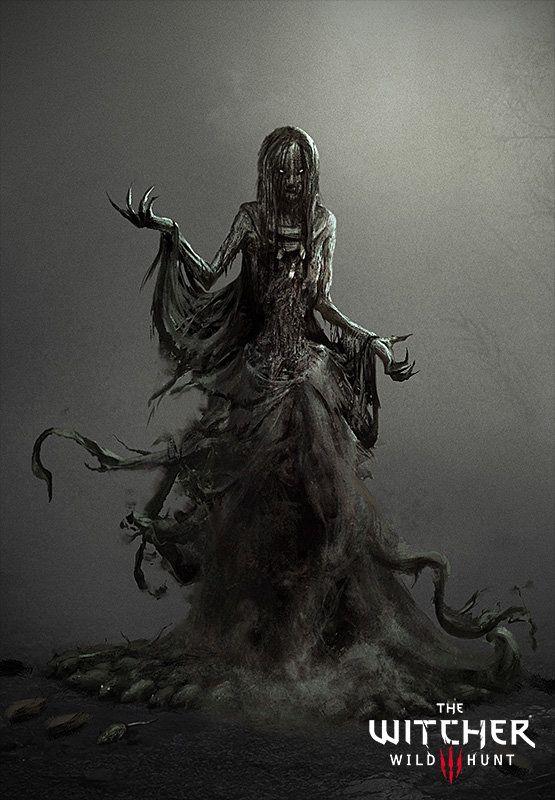 The Witcher 3: Wraith, Marek Madej on ArtStation at https://www.artstation.com/artwork/the-witcher-3-wraith