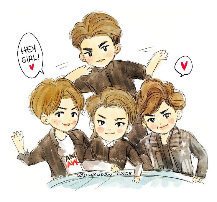 1000+ images about EXO Chibis :3 - 92.2KB