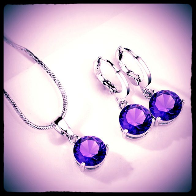 70% OFF for this beautiful necklace  earrings set (check link in bio) for 1 day only from $6.09 to only $1.83 !! How to get this offer? 1. Like this post 2. Use code WANT70% at the check out page 3. Tell your friends about this good news  Hurry and claim your beautiful jewelry set now!! ==== Cubic Zirconia is similar to a diamond with its brilliance and crystal clarity. It looks so much like a diamond it is an affordable alternative to diamonds. It can made in different colors to simulate…
