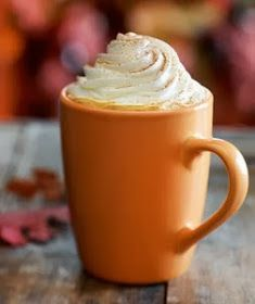 Mommy and Things: Pumpkin Spice Latte {Starbucks Copycat}