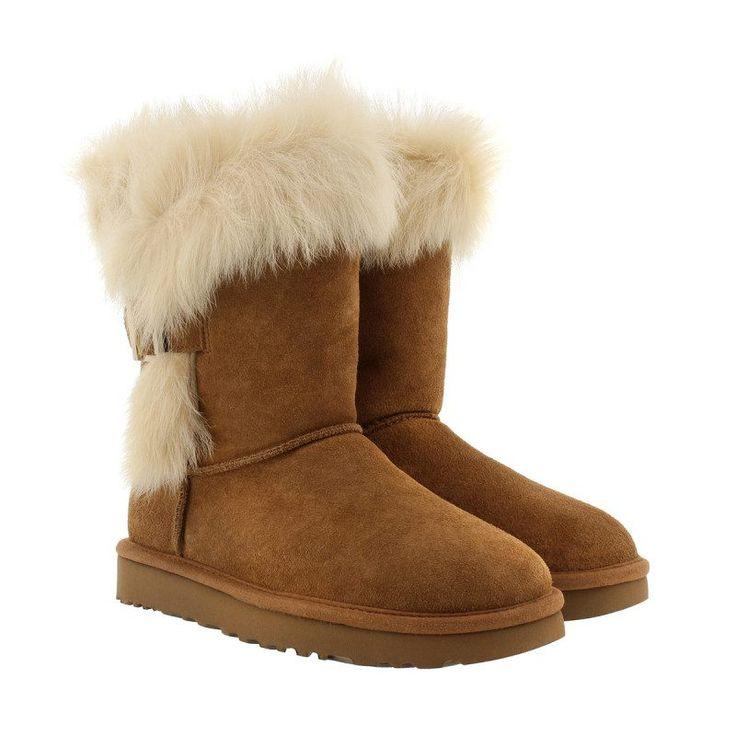 UGG UGG Boots & Booties – W Deena Chestnut – in cognac – Boots & Booties für Damen