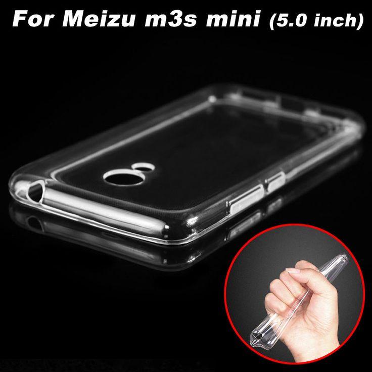 Meizu m3s Case Cover Transparent TPU Soft Cover Phone Case For Meizu m3s Mini Back Cover Case (5.0 inch)  - US $1.49