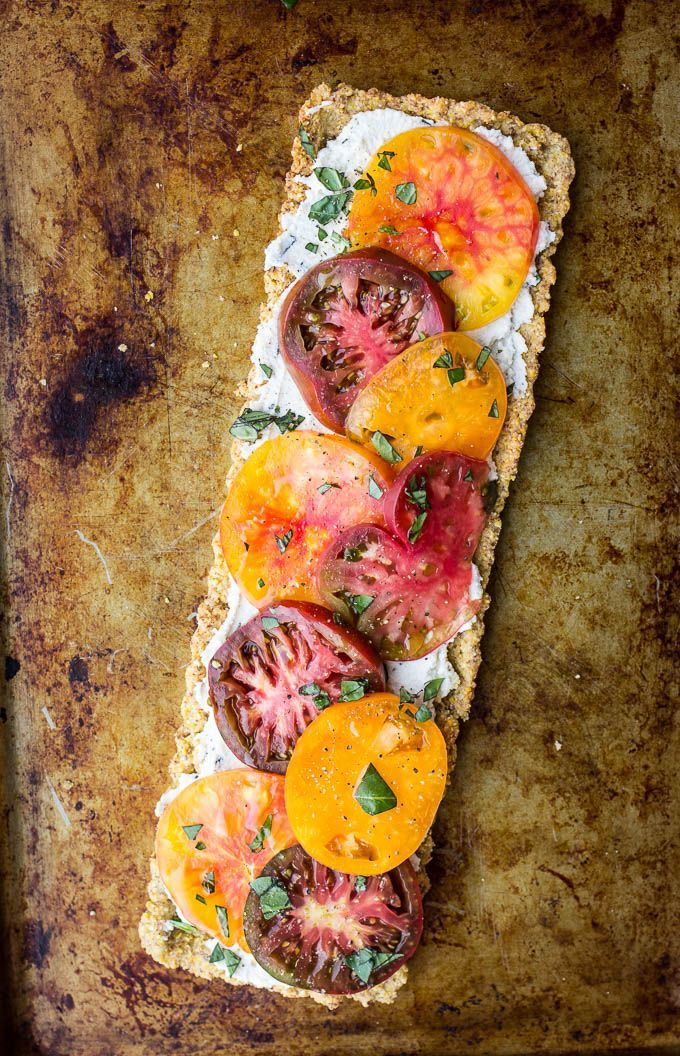 Heirloom Tomato and Ricotta Tart with a Cornmeal Almond Crust (Gluten-Free) – Salted Plains.