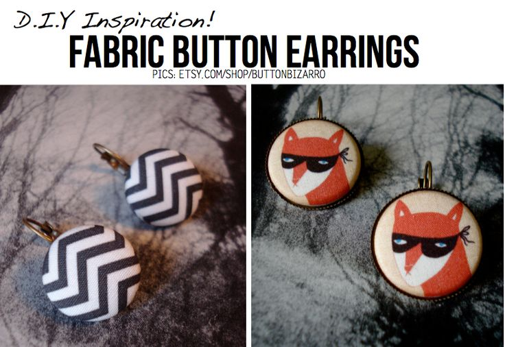 DIY Button Bling! DIY Button Bracelets, Earrings, Necklaces and more