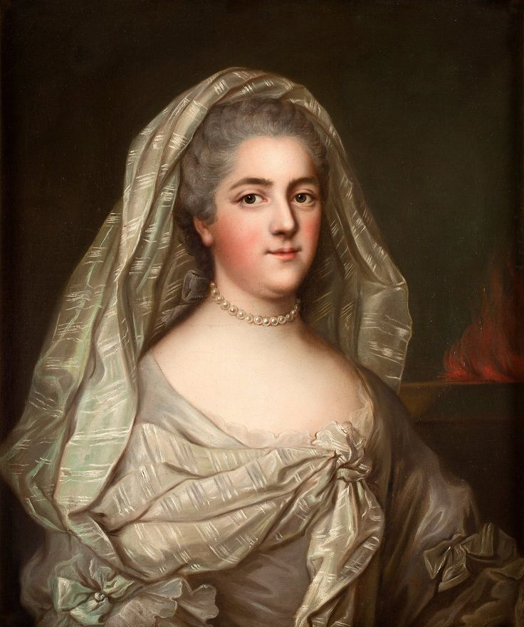 Madame Victoire, one of the Mesdames, as a vestal. Every princess and great lady wanted to be painted as a vestal virgin.