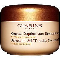 Clarins - Delectable Self Tanning Mousse SPF 15