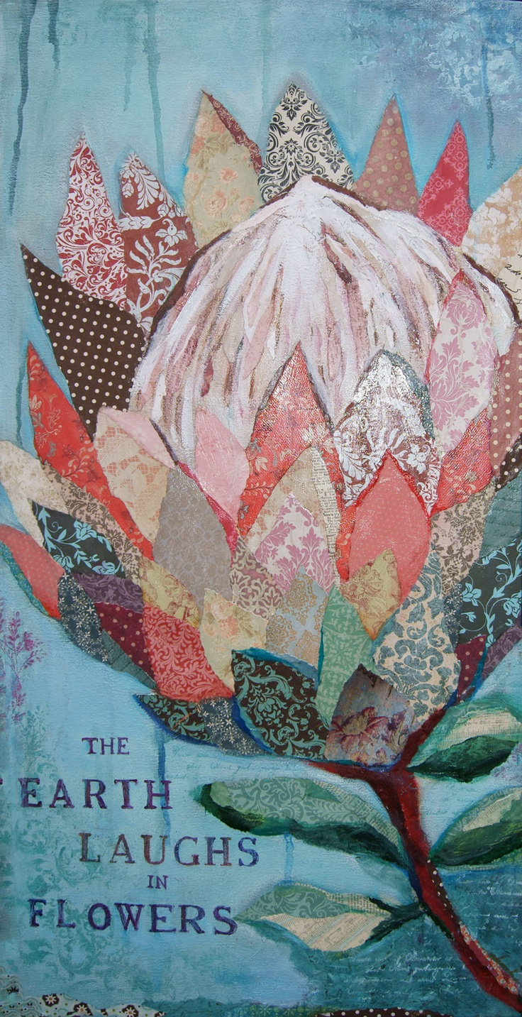 The Earth Laughs in Flowers - Heather Iggulden
