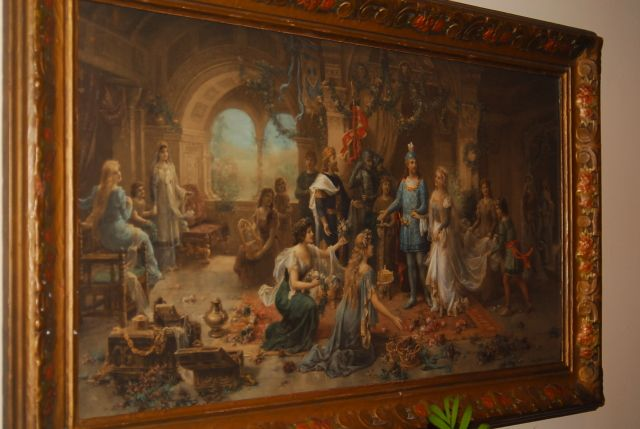 Em Oberhauser Paintings | Fine Art: Em Oberhauser, lovely painting, professional appraiser           I have this one.