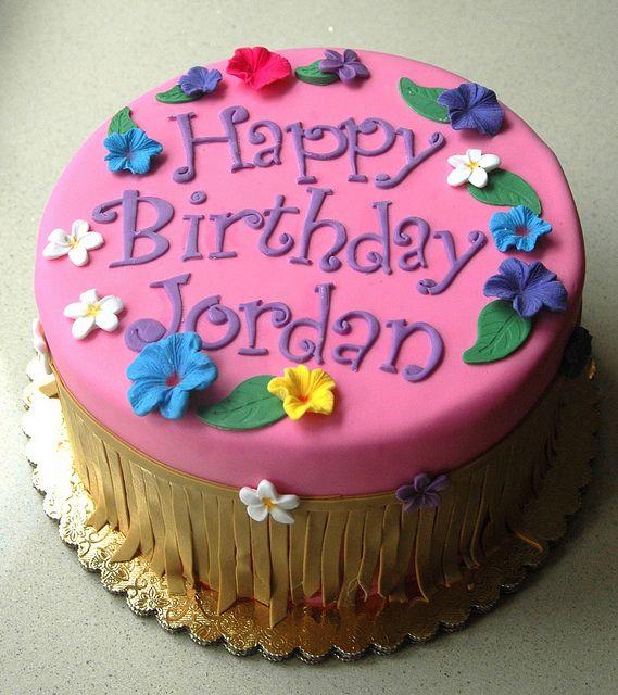 Luau Party Cake Luau Birthday Party For Kids