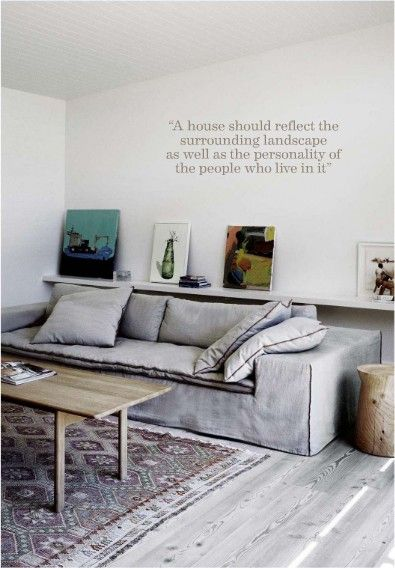 Gray Couch Living Room Designs: Poliform Airport Sofa: Paola Navone