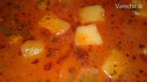 Maďarská zemiaková polievka (fotorecept) - Recept