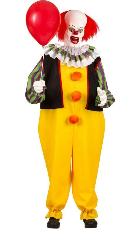 Life Size Animated Pennywise The Clown 6ft Party City