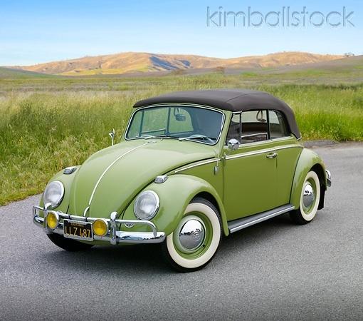 VW Bug! I really dig the color!