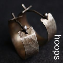 Handgemaakte zilveren en gouden oorringen