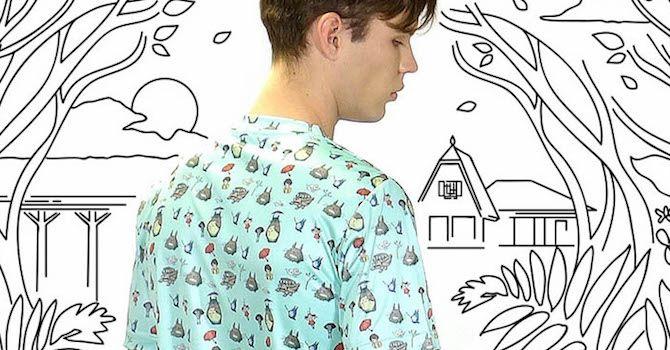 Una linea di abbigliamento dedicata allo Studio Ghibli