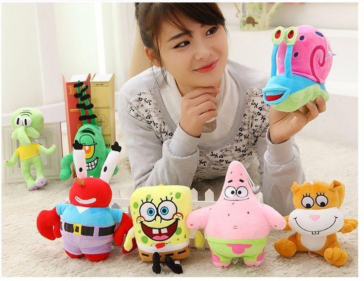 High Quality SpongeBob and Friends set (7pcs, 20cm): Sponge Bob, Patrick, Mr Krab, Plankton, Squidward Octopus, Gary Snail, and Sandy - Buy this stuff here: https://www.bikinibottomstore.com/high-quality-spongebob-and-friends-set/ -   #spongebob #patrick #squidward #merchandise #goods #bikinibottom #party #balloon #home #interior #bedroom #bathroom #dolls #toys #aquarium #ornament #travel #cartoon #anime #hero #onlineshop #products #supplier