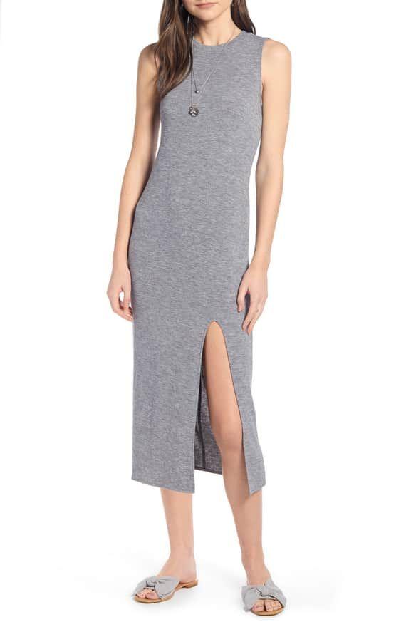 cb5cb51513ec Something Navy Easy Knit Midi Dress (Nordstrom Exclusive) | Nordstrom