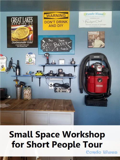 Small Space Garage Workshop Organizer Ideas for Short People The