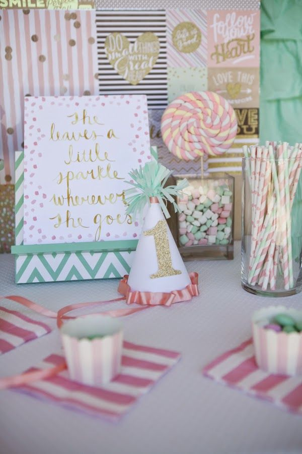 Pastel first birthday party |  The Frosted Petticoat