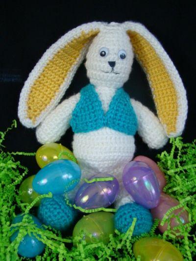 Easter Bunny - FREE CROCHET PATTERN 5/14. Free CROCHET ...