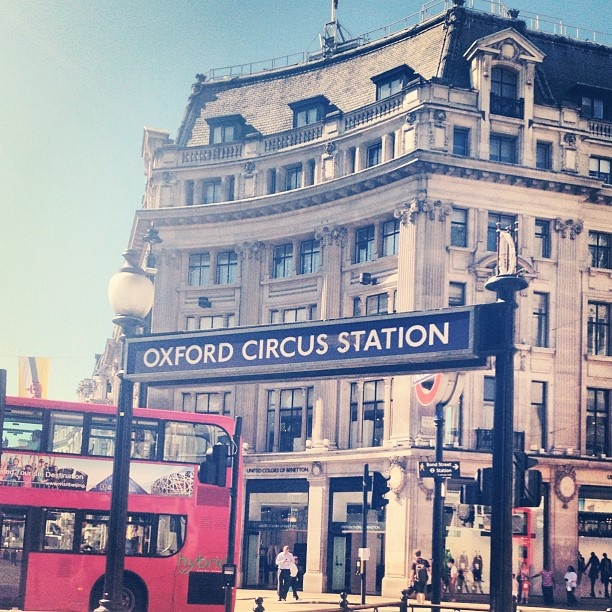 Oxford Circus Station #London