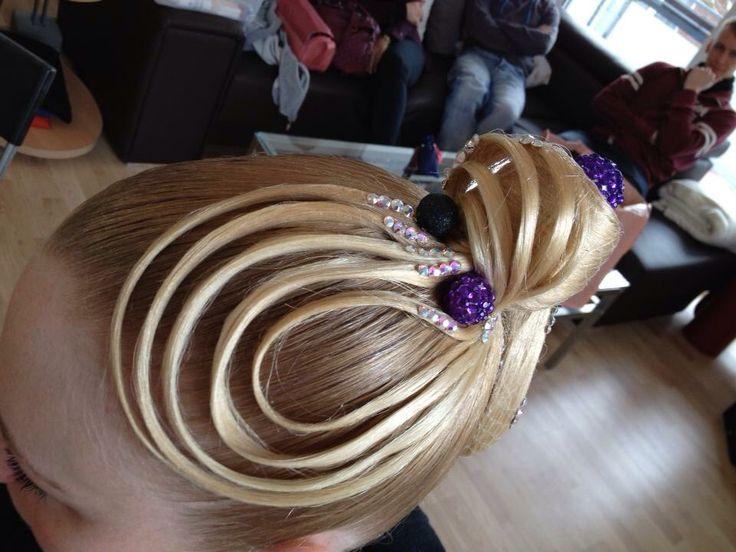 Amazing ballroom hair style