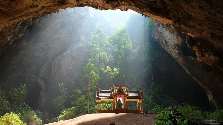 Kuha Karuhas Pavilion in Khao Sam Roi Yot Nat'l Park Thailand