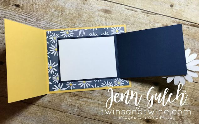 Delightful Daisy Joy Fold Card! - Twins and Twine