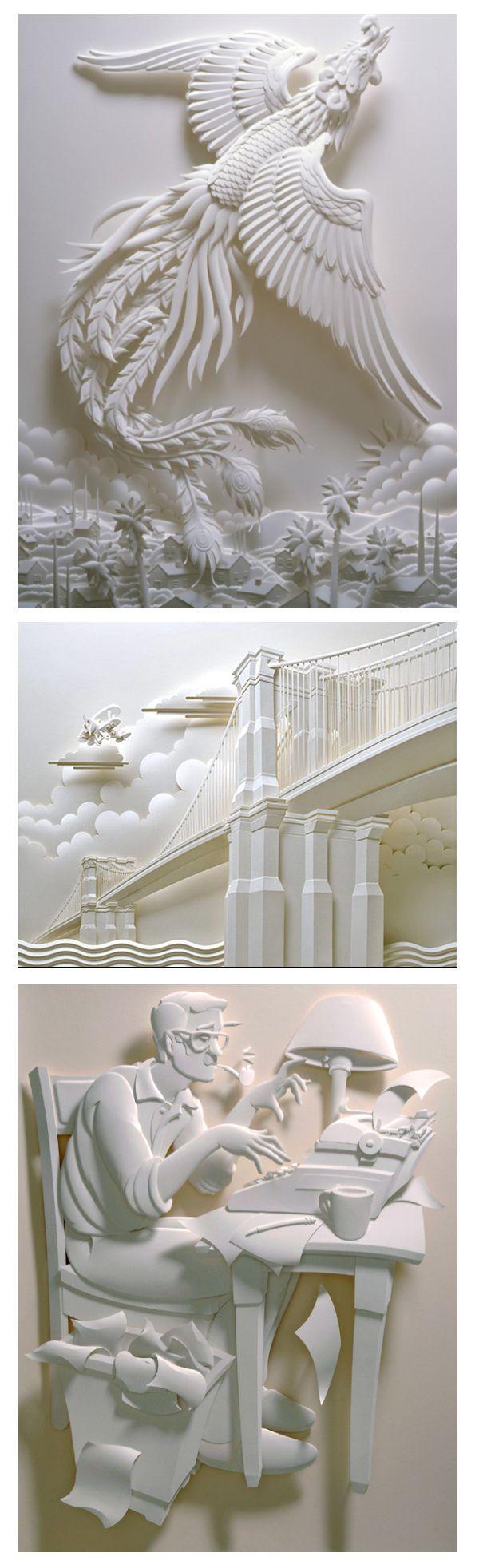Jeffnis Hinaka - 100 créations uniques à découvrir sur l'art du papier ! - graphisme