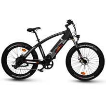 SOBOWO 26*4,0 full suspension gabel Q7 elektrisches fahrrad