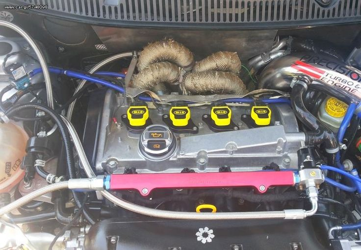 DTM PERFORMANCE COILS DTM GENESIS YELLOW COILS TUNING A RACED RENAULT CLIO #TUNING