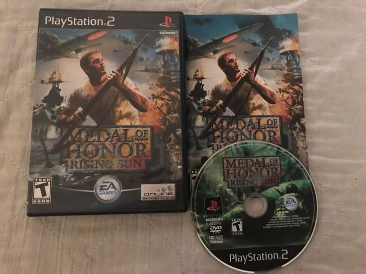 Medal of Honor: Rising Sun (Sony PlayStation 2, 2003) PS2 100% complete