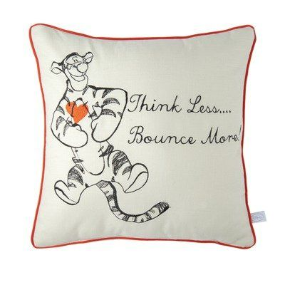 "Some good advice from Tigger:  ""Think Less.....  Bounce More!"""