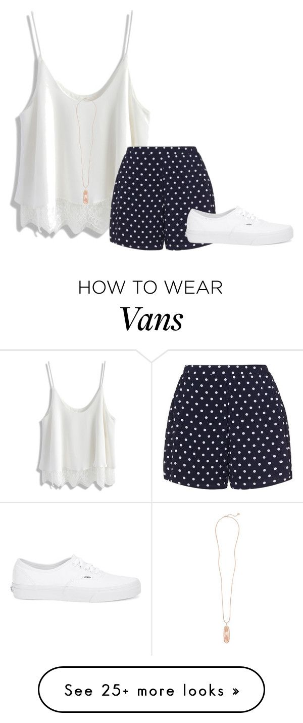 """""""The pool party went great!"""" by flowers8989 on Polyvore featuring Chicwish, Zizzi, Vans, Kendra Scott and poolparty"""