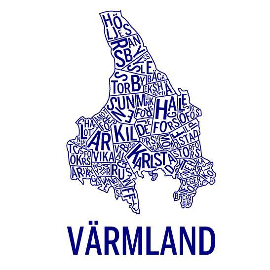Värmland marinblå