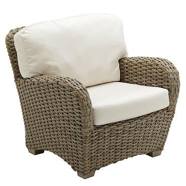 Sunset Deep Seating Arm Chair with Cushion