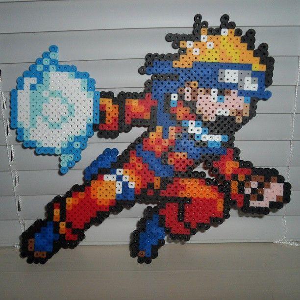 Nara Beads: Naruto Perler Beads By Dre_edgelife