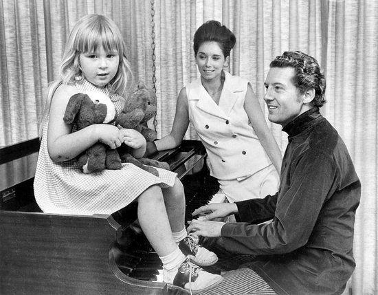 Phoebe, Myra and Jerry Lee Lewis